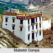 Mulbekh Gompa, Mulbekh, Kargil, Jammu & Kashmir