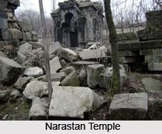 Narastan Temple, Narastan, Pulwama, Jammu & Kashmir