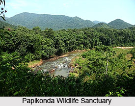 Papikonda Wildlife Sanctuary, Khammam District, Andhra Pradesh