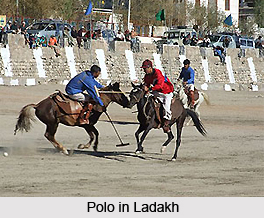 Polo in Ladakh, Jammu and Kashmir