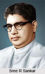 Sree R Sankar , Kerala Politician