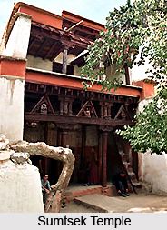 Sumtsek Temple, Alchi, Leh, Jammu & Kashmir