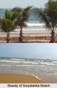 Suryalanka Beach, Andhra Pradesh