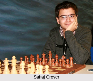 Sahaj Grover Indian Chess Player