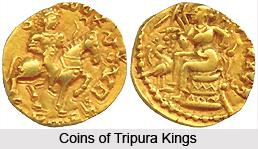 Coins of Tripura Kings
