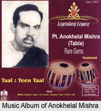 Anokhelal Mishra, Indian Classical Instrumentalist