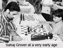 Sahaj Grover, Indian Chess Player