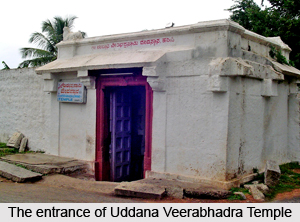 Uddana Veerabhadra Temple, Hampi, Karnataka