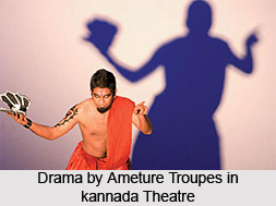 Amateur Troupes in Kannada Theatre