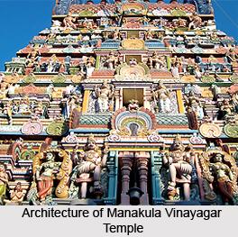 Architecture of Manakula Vinayagar Koil