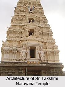 Architecture of Sri Lakshmi Narayana Temple,  Pazhaiya Seevaram, South India