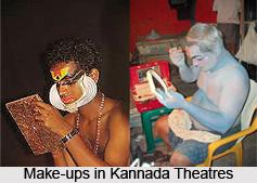Art of Make-up in Amateur Kannada Theatre