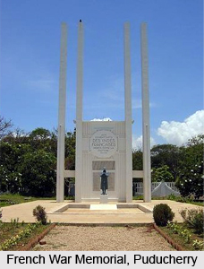 French War Memorial, Puducherry