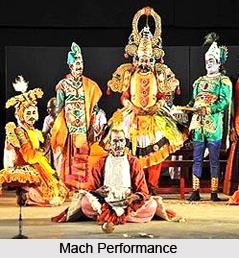 Mach, Indian Theatre