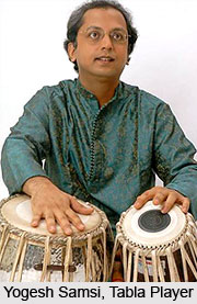 Yogesh Samsi, Indian Classical Instrumentalist