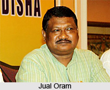 Jual Oram, Tribal Affairs Minister