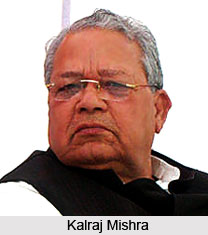 Kalraj Mishra, Micro, Small and Medium Enterprises Minister