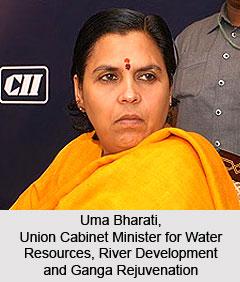 Uma Bharti, Minister for Water Resources, River Development and Ganga Rejuvenation