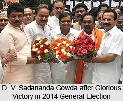 D. V. Sadananda Gowda, Minister of Railways