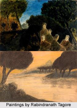 Rabindranath Tagore as a Painter