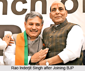 Rao Inderjit Singh, Indian Politician