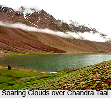 Chandra Taal, Lahaul and Spiti District, Himachal Pradesh