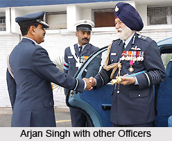 Early Life of Arjan Singh, DFC Marshal, Indian Air Force