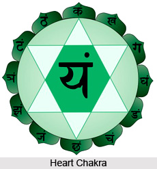 A meditative exercise on the seven hearts  , Chakra System
