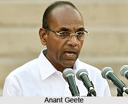 Anant Geete, Minister of Heavy Industries and Public Sector Enterprises