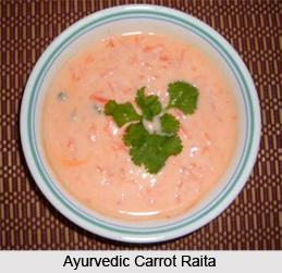Ayurvedic Carrot Raita