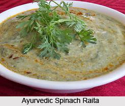 Ayurvedic Spinach Raita