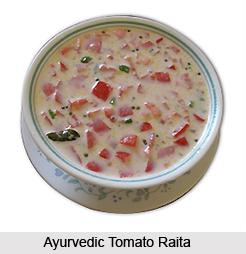 Ayurvedic Tomato Raita