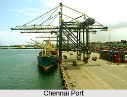 Chennai Port, Tamil Nadu