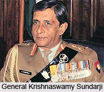 General Krishnaswamy Sundarji , Former chief of Indian Army