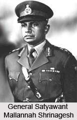 General Satyawant Mallannah Shrinagesh