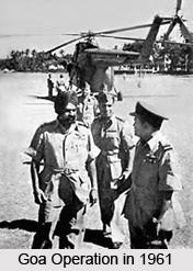 Goa Operation ,1961