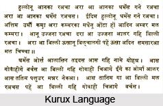 Kurux Language