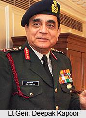 Lt Gen Deepak Kapoor