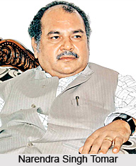 Narendra Singh Tomar, Minister of Steel, Mines, Labour and Employment