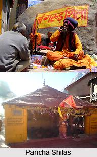 Panch Shilas, Badrinath, Uttarakhand