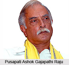Pusapati Ashok Gajapathi Raju, Minister of Civil Aviation