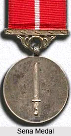 Sena Medal, Indian Defence Award
