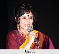 Sharda Indian Playback Singer