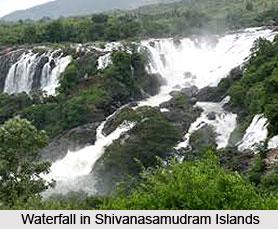 Shivanasamudram Islands