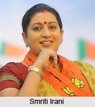 Smriti Irani, Minister of Human Resource Development