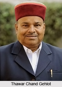 Thawar Chand Gehlot, Indian Politician
