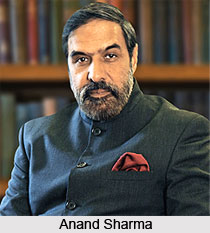 Anand Sharma, Indian Politician