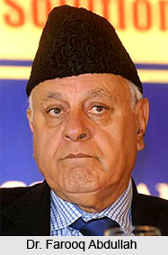 Dr. Farooq Abdullah, Indian Politician