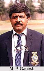 M. P. Ganesh, Indian Hockey Player