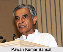Pawan Kumar Bansal, Indian Politician